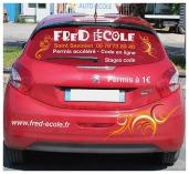 Fred auto ecole véhicule, permis de conduire à Saint Savinien