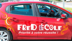 Fred auto ecole véhicule