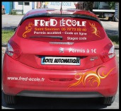 Fred auto ecole véhicule, permis de conduire boite automatique à Saint Savinien